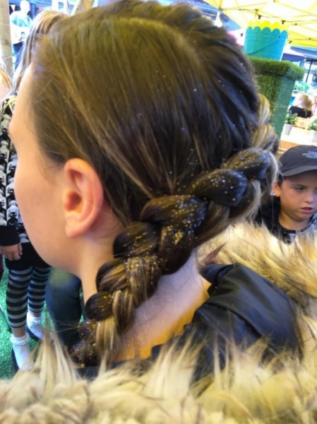 Festival Hair with Rainbow Faces Ltd - Festival Hair for parties and events